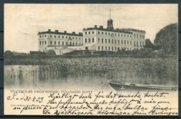1903 Sweden Stockholm Tullgarns Slott Postcard. PKXP Railway TPO - Sweden