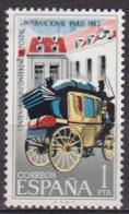 Diligence Postale - ESPAGNE - Hotel Des Postes De Paris - N° 1171 ** - 1963 - 1931-Tegenwoordig: 2de Rep. - ...Juan Carlos I