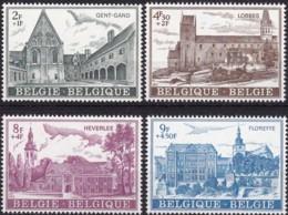 1973, Belgien,  1715/18,  MNH **, Kultur. - Belgio
