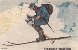 Festungs-Truppen - Sign.Wolfer                (P-193-70331) - Regiments