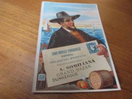 Chromo, Grands Bazar, Dunkerque, A Somiliana - Kaufmanns- Und Zigarettenbilder