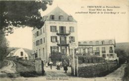 COTES D'ARMOR  PERROS GUIREC TRESTRAOU  Grand Hotel Des Bains Hopital De La Croix Rouge - Perros-Guirec