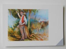Martin Laurent Partarrieu , Huile Sur Toile 146 / 114 , Besoin Naturel , Beharra - France