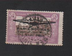 Faux Nouvelle-Calédonie N° 2 Poste Aérienne 50 C Surchargé Oblitéré - Aéreo