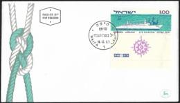 1963 - ISRAEL - FDC - Michel 295 [Shalom/Hanseatic] + HAIFA - FDC