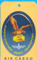 EX.YU.  The JAT Cargo Ticket - Aviation Commerciale