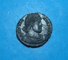 Jovianus Bronze Ae3, AQUILEA Mint Italy - 7. Der Christlischen Kaiser (307 / 363)