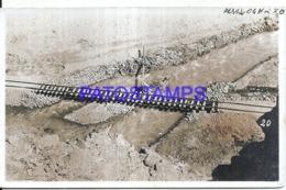 124375 ARGENTINA SALTA A CHILE CONSTRUCCION FERROCARRIL POSTAL POSTCARD - Argentinien