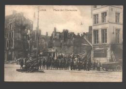 Liège - Place De L'Université - Dommages De Guerre - Lüttich