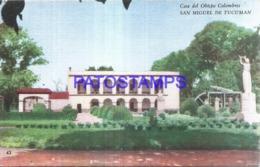 124379 ARGENTINA TUCUMAN CASA DEL OBISPO COLOMBRES POSTAL POSTCARD - Argentinien