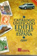 3 Catalogue Espagnol Edifil 1998 +1981 +filabo 1850-1988 - Spagna