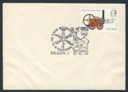 Poland Polska Polen 1978 Brief Cover – XXI. Kongress Der SITK -Delegierten - 15-16 Oktober 78, SZCECIN / - Trains