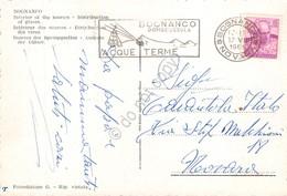 Cartolina Bognanco Distribuzione Bicchieri Timbro A Targhetta Bognanco 1961 - Novara