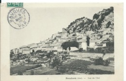 BAUDUEN  ( VAR )  VUE DE L 'EST - Frankrijk