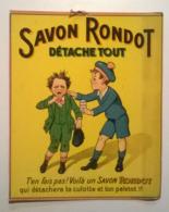 Affiche Cartonnée / Publicité Savon RONDOT 24x30cm - Posters