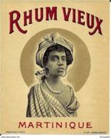 RHUM  VIEUX MARTINIQUE - Rhum