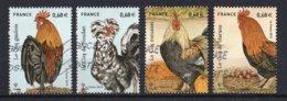 France 2015 : Timbres Yvert & Tellier N° 5007 - 5008 - 5009 Et 5010 Avec Oblit. Mécaniques. - France