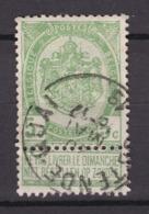 N° 56  OSTENDE QUAI - 1893-1907 Coat Of Arms