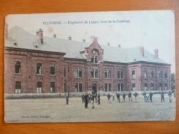 CPA- Vilvoorde/ Vilvorde - Régiment De Ligne- Cour De La Caserne - Animée- Circulée 1919 - Vilvoorde