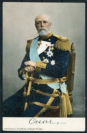 Sweden King Oscar, Axel Eliassons Postcard - Royal Families