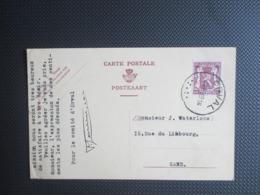 PWS - Gele Kaart Heraldieke Leeuw - Stempel Orval - Other