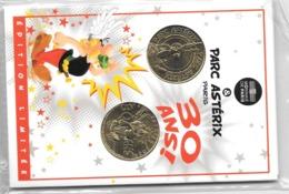 Jeton Touristique Encart Parc Asterix 2 Médailles 2019? - 2019