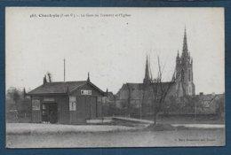 CHANTEPIE - La Gare Du Tramway Et L'Eglise - Francia