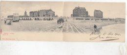 KNOKKE / PANORAMAKAART   UITGEVER SUGG 1903  ZELDZAAM - Knokke