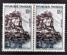 FRANCE 1957 - PAIRE Y.T. N° 1127 - OBLITERES - Frankreich