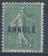 N°130-C12 ANNULE NEUF(**) - Lehrkurse