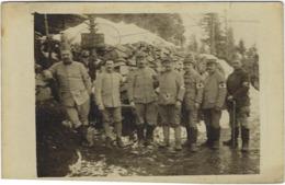 73  Albertville   Carte Photo  Centre De Secours  1917 Hopital - Albertville