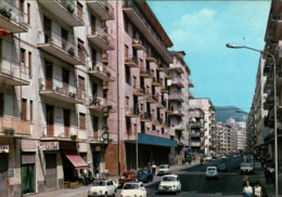 ! Moderne Ansichtskarte Salerno, Via Irno, Fiat Autos, Cars - Salerno