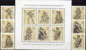Künstler Kupferstiche 1978 DDR 2347/2 Plus Sheetlet ** 6€ Museen Berlin Landsknecht Hellebarde M/s Sheet Bf Germany - Engravings