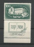 Israel 1950 25th Anniv. Of The Hebrew Univ. Y.T. 31 ** - Israel