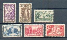 GUI 259 - YT 119 à 124 ** - Unused Stamps