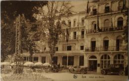 Spa // Hotel Des Bains (niet Standaard) Entree - Automobiles 19?? - Spa