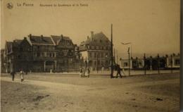 De - La Panne // Boulevard De Dunkerque Et Le Tennis 19?? - De Panne