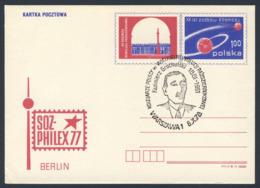 Poland Polska Polen 1978 Karte Card – Kazimierz Grochulski 1881-1961 - Polnische Eisenbahner In Großen Oktoberrevolution - Treinen