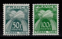 Taxe YV 88 & 89 N* Cote 65 Euros - 1859-1955 Mint/hinged