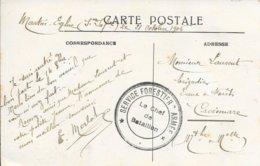 SEINE MARITIME 78 - DIEPPE -  * SERVICE FORESTIER ARMEE * LE CHEF DE BATAILLON - 3 C.N. - 1916 -  BELLE FRAPPE - WW I