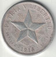 Cuba 1 Peso – 1915 - Cuba