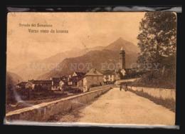 VARZO STRADA DEL SEMPIONE  ITALY POSTCARD VINTAGE ORIGINAL CA1930 W4-1452 - Verbania