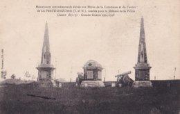 La Ferté Gaucher Monuments Commémoratifs élevés Aux Héros De La Commune Et Du Canton - La Ferte Gaucher