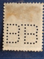 MONACO 1926-31 - Y&T N° 76 PERFORE B B - Monaco