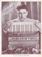 ATILIO CAVESTRI, TITO (1910-1989) - AUTOGRAFO MUSICO ACORDEONISTA DE TANGO. ACCORDEONISTE. ACORDEON. -LILHU - Autographes