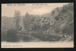 VALLEE DE L'OURTHE  LA ROCHE NOIRE A SY - Ferrieres