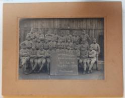 Grande Photo Nombreux Soldats Camp Barbot Bonn Occupation De L'Allemagne 42ème Bataillon Du Génie Classe 1921 - Guerra, Militares