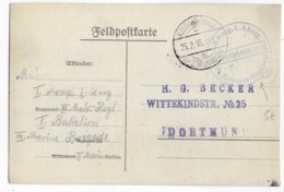 1915 - MARINE ALLEMANDE En BELGIQUE - CP FELDPOST III.MATROSEN-REGIMENT à BRUGES - Army: German