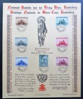Belgique - Belgium - Yvert 471-477 - Scott#B214-B220 - Koekelberg - Foire D'Ostende - Souvenir Cards