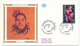 """FRANCE => 6 Enveloppes FDC - """"De La Scène à L'écran"""" - Yvonne Printemps, Fernandel, Coluche, Montand, Bourvil... - FDC"""